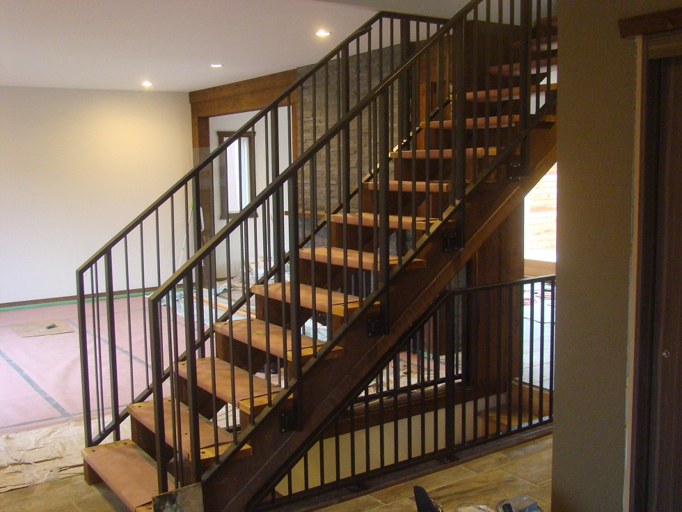 Metal Railings, Metal Staircase, Metal Work