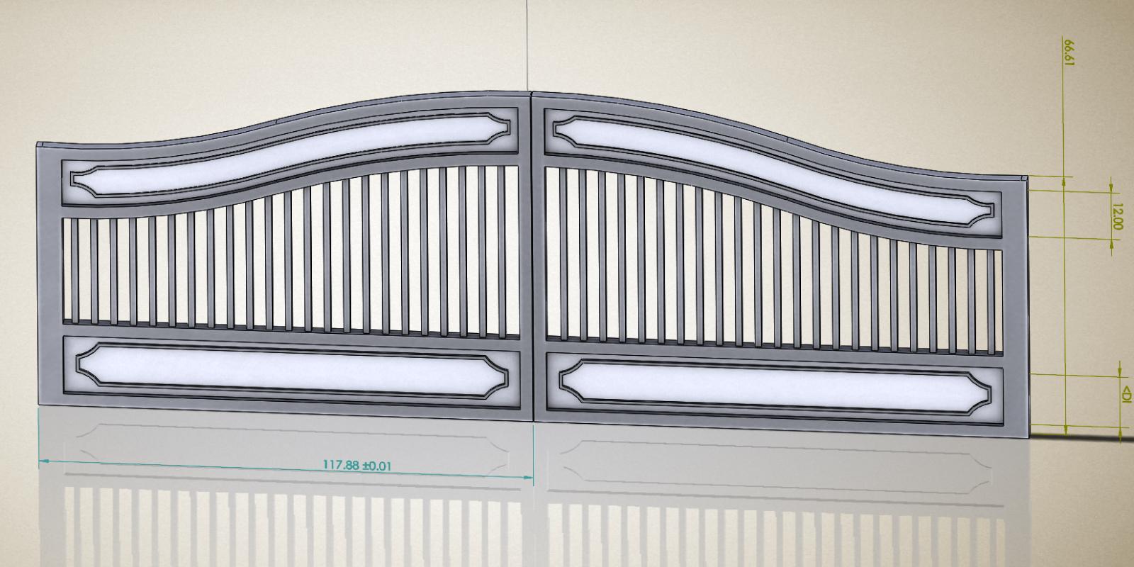 Driveway Gate Maple Ridge BC portfolio #3 16