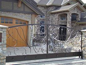 custom driveway gates v1 mobile