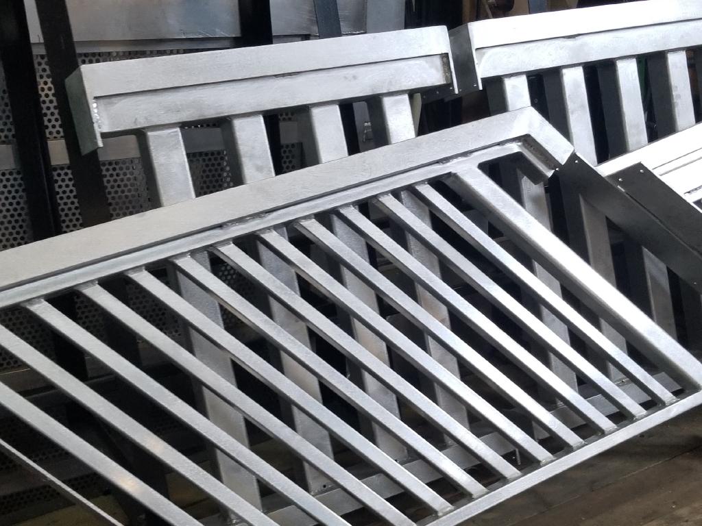 Metal Railings & Metal Stairs In Progress #1