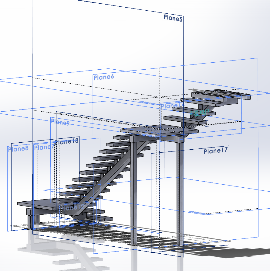 platform stairs v2 forging technologies