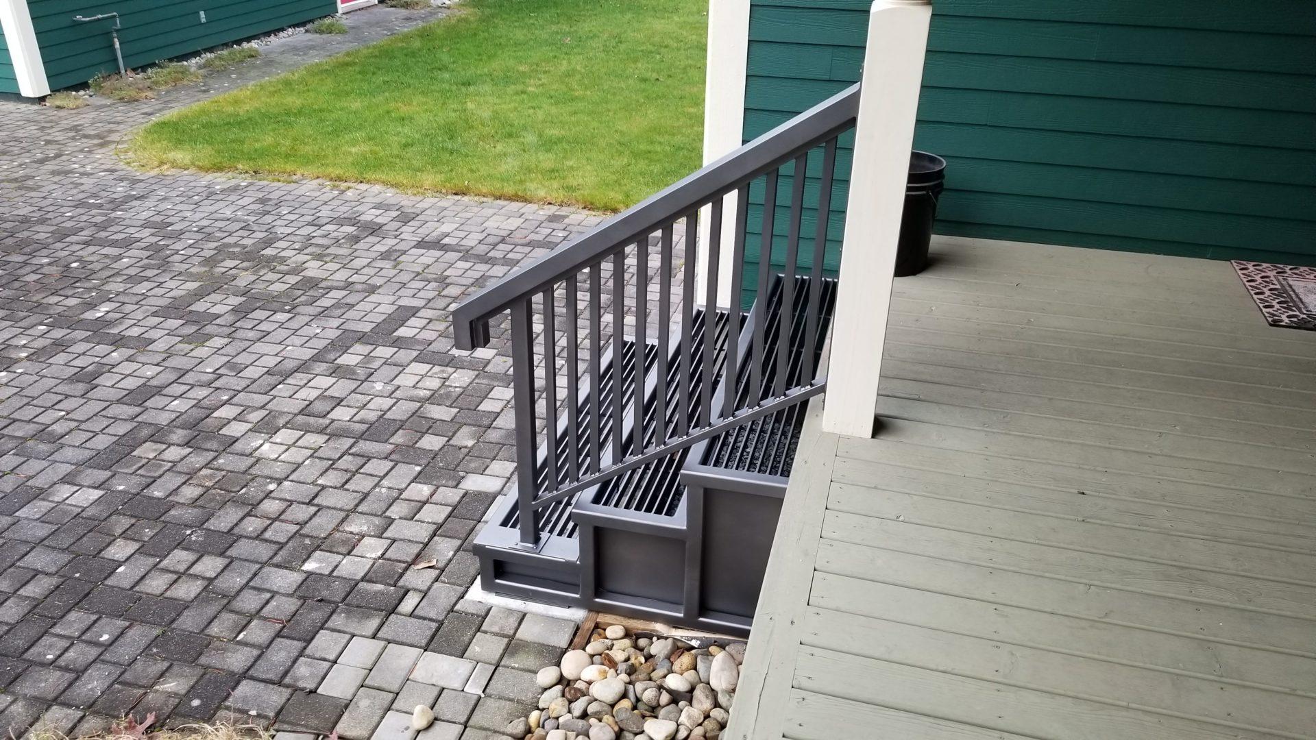 aluminum railings portfolio 20-13