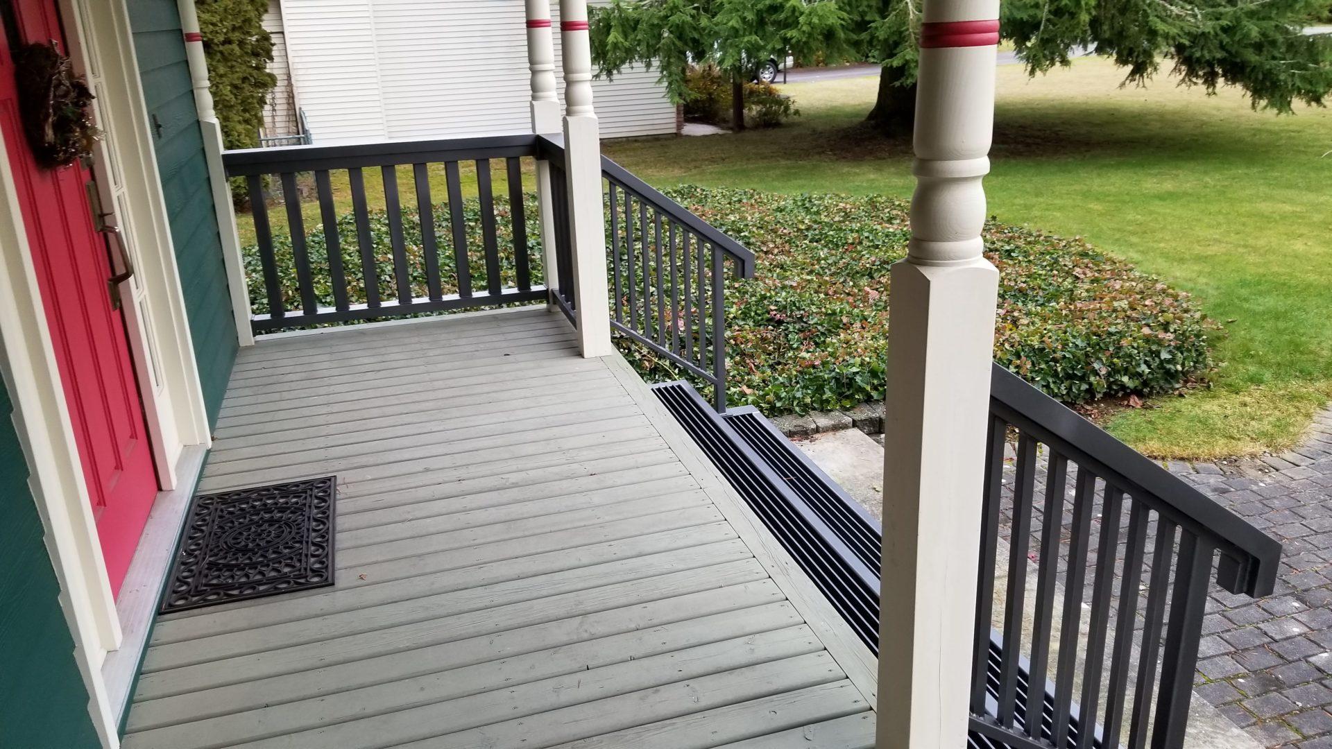 aluminum railings portfolio 20-19