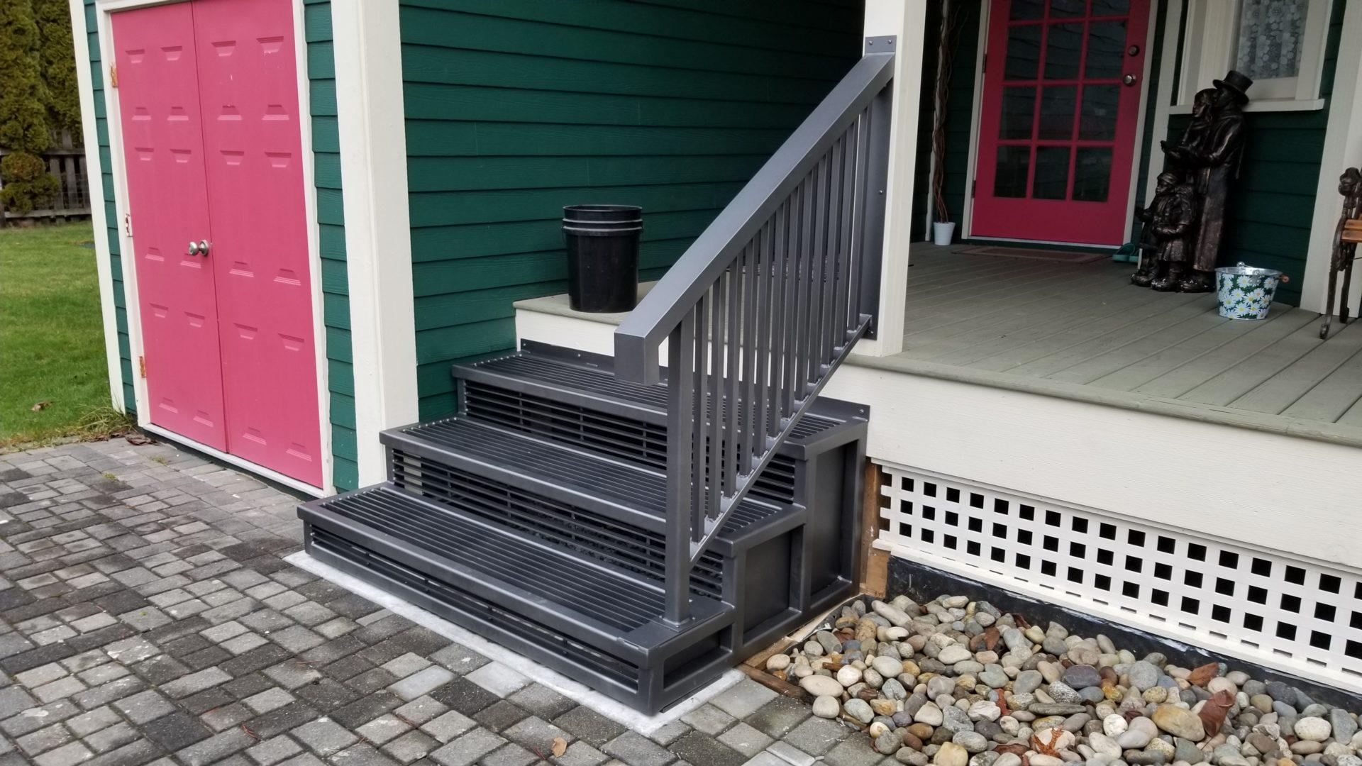 aluminum railings portfolio 20-20