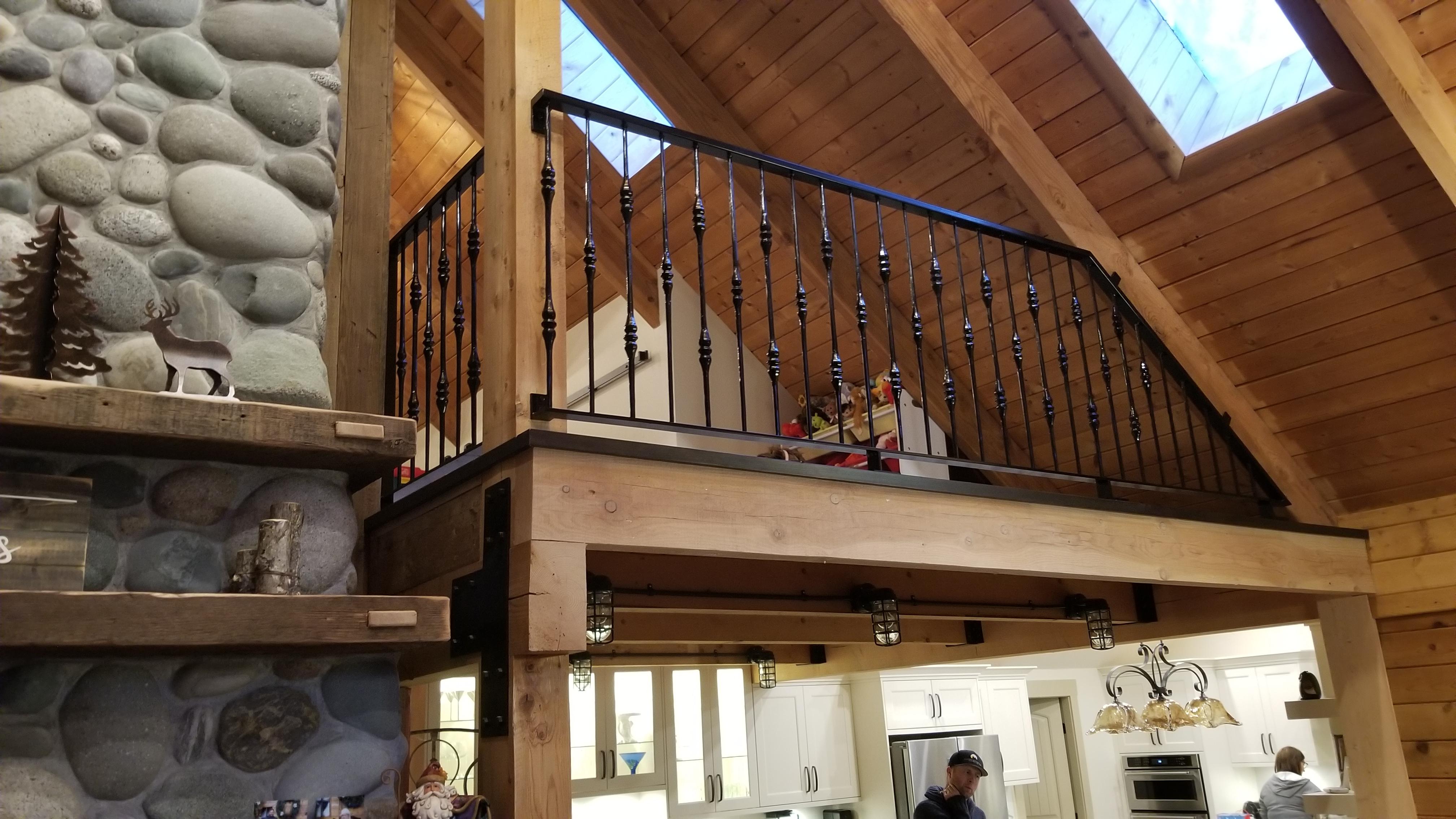 Mono Stringer Staircase & Railing, Portfolio #19