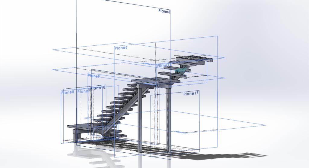platform stairs v1 forging technologies