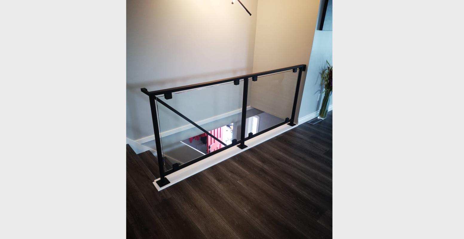 Blacked Out Glass Railing Portfolio 23